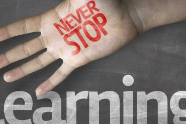 never stop learning""